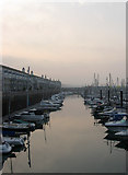 TQ3303 : Inner Harbour, Brighton Marina by Simon Carey