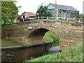 SE5726 : Tankard's Bridge, Selby Canal by Christine Johnstone