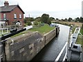 SE5726 : West Haddlesey Flood Lock, Selby Canal by Christine Johnstone