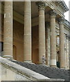 SP6737 : Stowe House, south terrace by Graham Horn