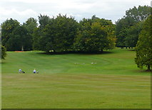 SP6737 : Stowe Park, view from the rotondo by Graham Horn
