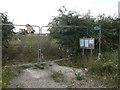 SK6839 : Footpath closed by Alan Murray-Rust