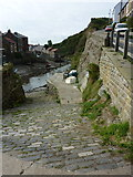 NZ7818 : Staithes Beck, Staithes by pam fray