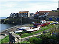 NU2519 : Craster Harbour by Maigheach-gheal