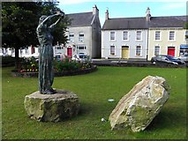 "C2502 : ""Earth Mother"" sculpture, Raphoe by Kenneth  Allen"