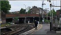 TQ2775 : St John's Hill Bridge, Clapham Junction by N Chadwick