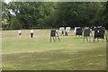 SP2382 : Walking to a target, Meriden Archery Club  by Robin Stott