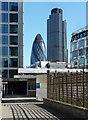 TQ3281 : View from St Alphage Highwalk by Stephen Richards