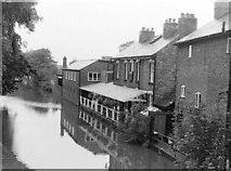 SO9466 : Boat & Railway Pub, Canal Side, 1983 by Rob Newman