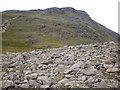 NY2307 : Esk Pike from Ore Gap by Peter S