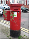 TQ2284 : Victorian postbox, Balmoral Road / Lechmere Road, NW2 by Mike Quinn