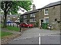 SK0295 : Marsden Street, Hadfield Road, Hadfield by L S Wilson