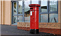J3375 : Victorian pillar box, Belfast by Albert Bridge