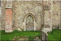 TG0135 : St Mary, Gunthorpe - Blocked doorway by John Salmon