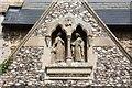 TG0135 : St Mary, Gunthorpe - Porch detail by John Salmon