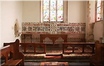 TG0135 : St Mary, Gunthorpe - Sanctuary by John Salmon