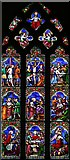 TG0135 : St Mary, Gunthorpe - Stained glass window by John Salmon