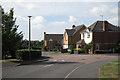 SP2482 : Recent housing, Strawberry Fields  by Robin Stott