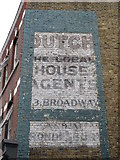 TQ2284 : Ghost sign, High Road, NW2 by Mike Quinn
