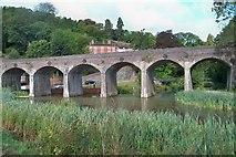 SJ6604 : Railway Viaduct - Coalbrookdale by Colin Babb