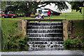 TQ8353 : Cascade, Leeds Castle, Kent by Christine Matthews