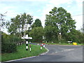 TL4701 : Road junction at Fiddlers Hamlet, near Epping by Malc McDonald