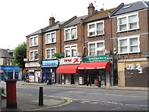 TQ2284 : High Road / St. Andrew's Road, NW10 by Mike Quinn