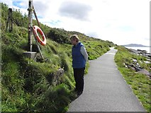 C3333 : Coastal path, north of Ned's Point by Kenneth  Allen