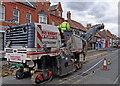 TA0322 : Road Planing Machine on High Street by David Wright