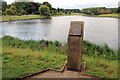 TQ8353 : Lake, Leeds Castle, Kent by Christine Matthews