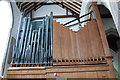 TQ9220 : Organ Pipes, Rye Church by Julian P Guffogg