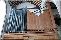 TQ9220 : Organ Pipes, Rye Church by Julian P Guffogg
