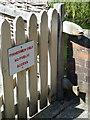 SU3940 : Gate, Wherwell by Maigheach-gheal