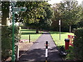 TQ4374 : Green Chain Walk in Eltham Park South by David Anstiss