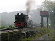 SH5848 : Welsh Highland Railway at Beddgelert by Gareth James