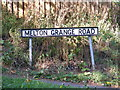 TM2749 : Melton Grange Road sign by Adrian Cable