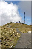 NA0900 : Radar station and communications mast on Mullach Mor, St Kilda by Phil Thirkell