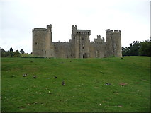 TQ7825 : Approaching Bodiam Castle by Jeremy Bolwell