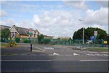 TQ5283 : Whybridge Junior School and Blacksmiths Lane by N Chadwick