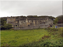 SM7525 : Bishop's Palace, St Davids by David Dixon
