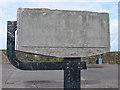 ST5689 : Severn Bridge commemorative stone by Ian Taylor