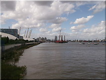 TQ3979 : Bugsby's Reach of River Thames by David Anstiss
