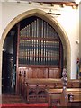 TF4066 : Organ in St James' Church, Spilsby by J.Hannan-Briggs
