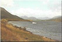 NN0858 : Loch Leven in 1984 by John Baker