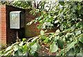 J3471 : Drop box, Belfast by Albert Bridge