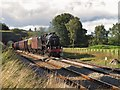 NY5539 : 'The Fellsman' steam excursion at Lazonby by Greg Fitchett