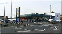 SU1584 : Aldi supermarket, Drove Road, Swindon by Brian Robert Marshall