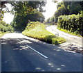 SO2912 : Road from the B4269 to Canal Cottage south of Llanfoist by Jaggery