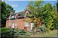 SK1518 : Derelict Cottage, Meadow Lane, Woodhouses by Mick Malpass