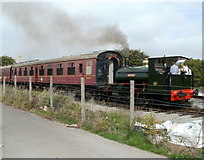 SO2508 : Whitehead at Blaenavon (High Level) station by Jaggery